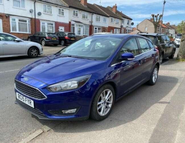 2015 Ford Focus 1.0 T Ecoboost Zetec S/s Mazda 3 Seat Leon Vauxhall Astra * 34,000 Miles * £20 Tax *