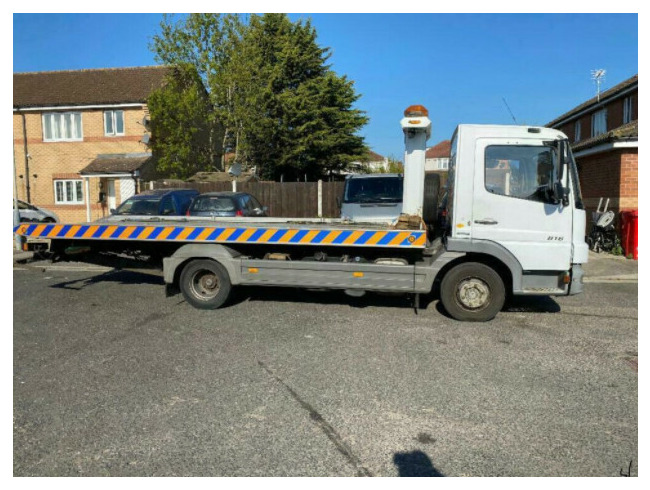 2009 Mercedes-Benz Atego Recovery Truck