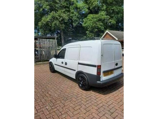 2009 Vauxhall Combo Car Derived Van - Manual