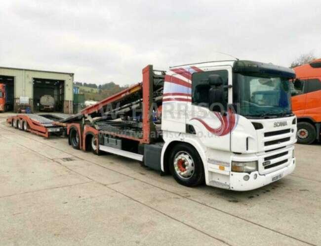 2008 Scania P420 Truck Transporter, Rolfo Hercules Equipment