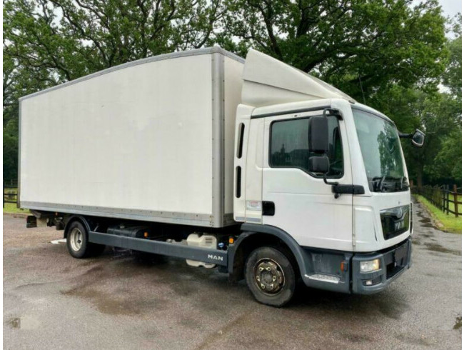 2016 Man TGL 7.150 Euro 6 Manual Gearbox Box with Tail Lift