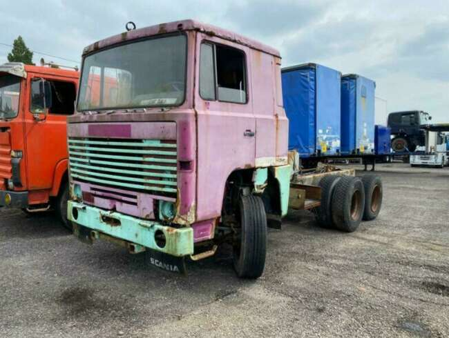 1980 Scania 141 10 Tyre Chassis Cab