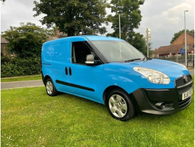 2011 Fiat Doblo Van Superb Condition Twin Side Loading Doors
