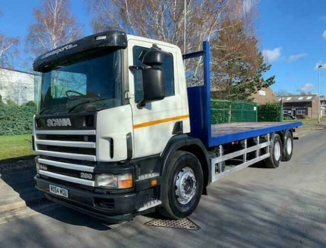 2004 Scania P94 260 10 Tyre Rear Lift Flatbed