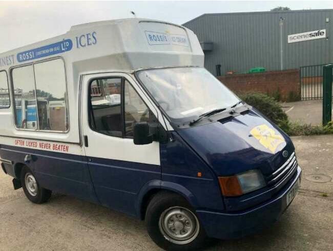 1989 Ford Transit Ice Cream Van