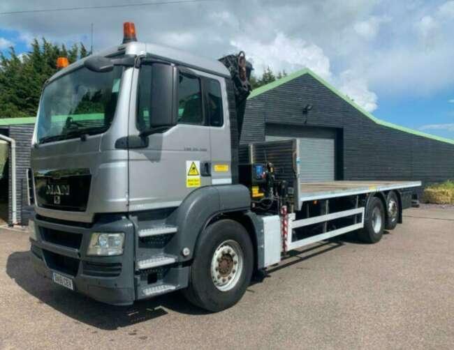 2012 MAN TGS 26.360 Crane lorry Hiab 1720 K2 crane remote control