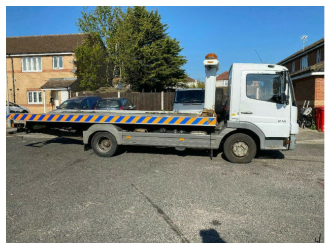 2009 Mercedes-Benz Atego Recovery Truck, Till and Slide, Flat Bed Truck