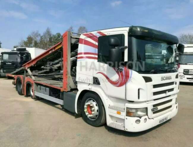 2008 Scania P420 6X2, Rolfo Hercules Equipment Fitted
