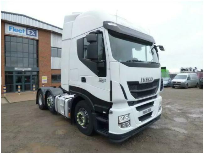 2015 Iveco Stralis 460 Eu6 Hi-Way 6x2 Tractor Unit