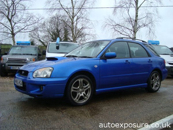 2005 Subaru Impreza 2.0 WRX AWD Turbo
