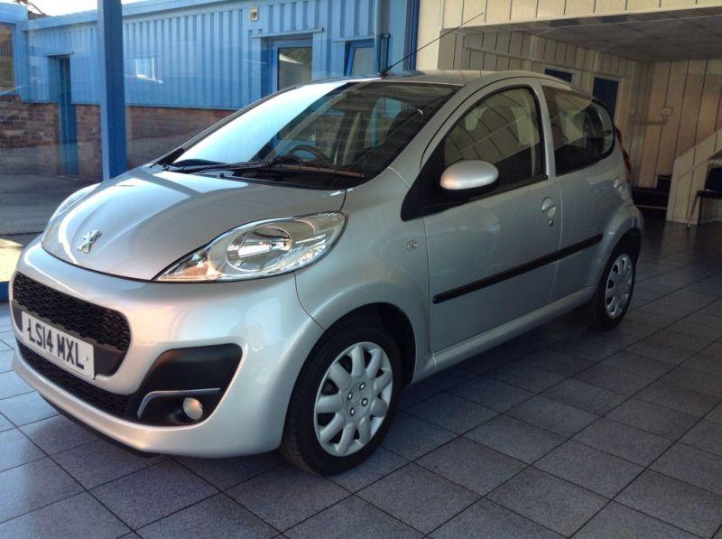 2014 Peugeot 107 1.0 5dr