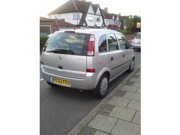 2004 (53 reg) 76000 mileage Vauxhall Meriva 1.6 8v Life