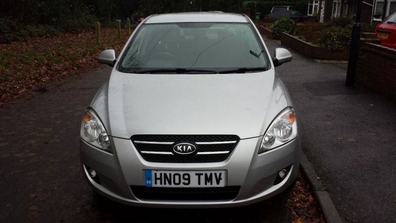 2009 Kia Ceed 1.4 sr7 damaged salvage