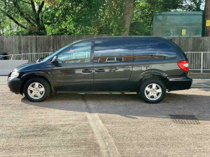 2008 Chrysler Grand Voyager Crd Automatic / Cheap Not Salvage Cat Damaged-2
