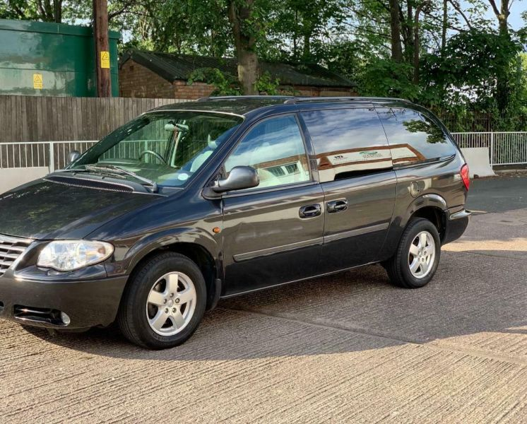 2008 Chrysler Grand Voyager Crd Automatic / Cheap Not Salvage Cat Damaged-1