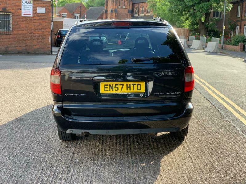 2008 Chrysler Grand Voyager Crd Automatic / Cheap Not Salvage Cat Damaged-4