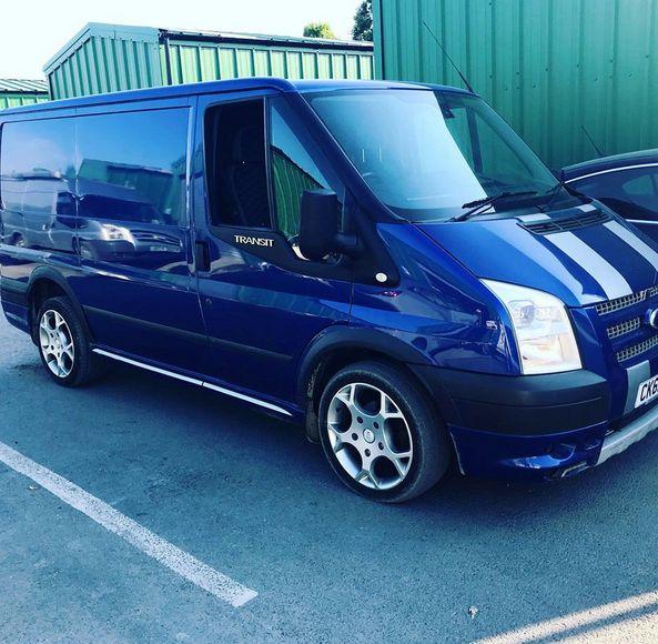 2013 Ford Transit Sport Van