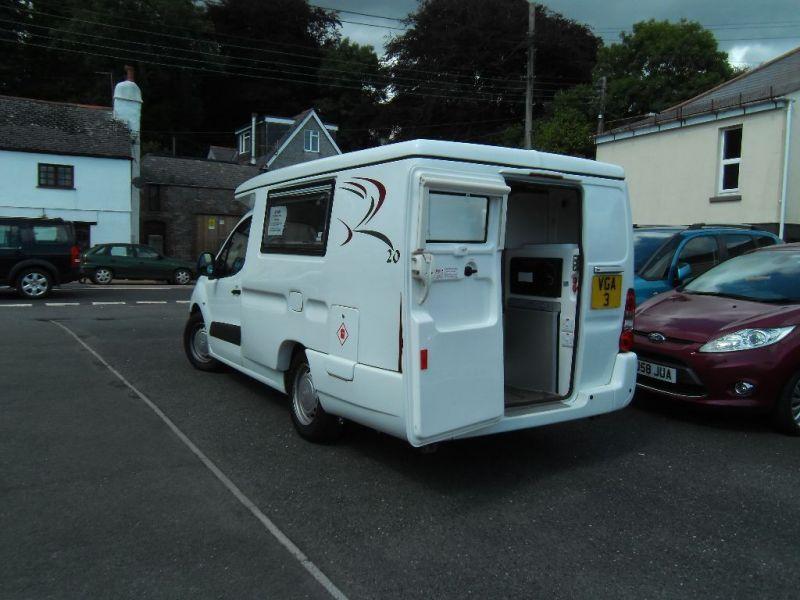 2013 Citroen Berlingo 1000 x Campervan Luxury spec Romahome