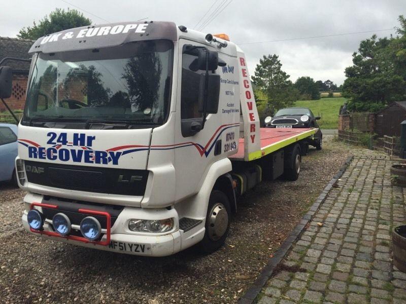 2002 Daf Trucks Fa Lf45.170 (Breakdown Truck)