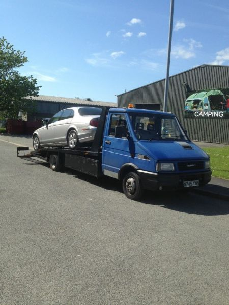 1996 Iveco Daily Turbo Beavertail Recovery Truck