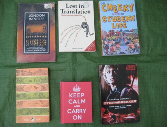 6 Various Books - Poetry, Humour, Film and Student Self-Help-1