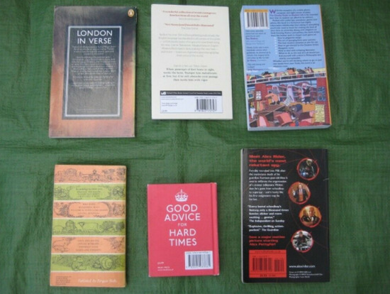 6 Various Books - Poetry, Humour, Film and Student Self-Help-2